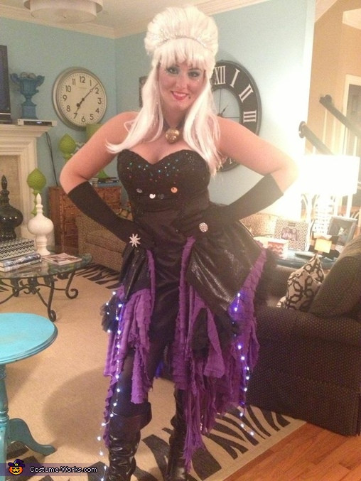 Best ideas about DIY Ursula Costume . Save or Pin Ursula Halloween Costume 3 5 Now.