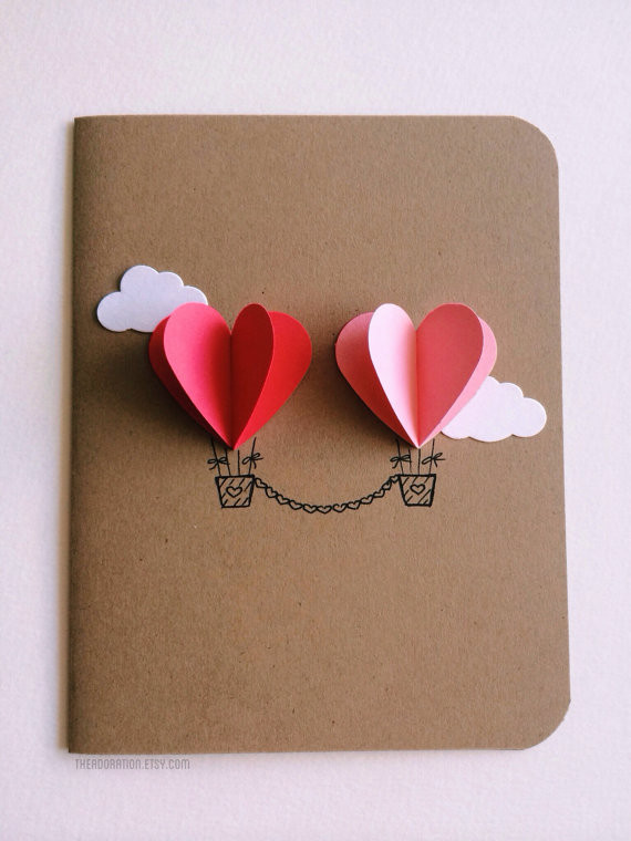 Best ideas about DIY Valentine Cards . Save or Pin 25 Easy DIY Valentine s Day Cards Now.