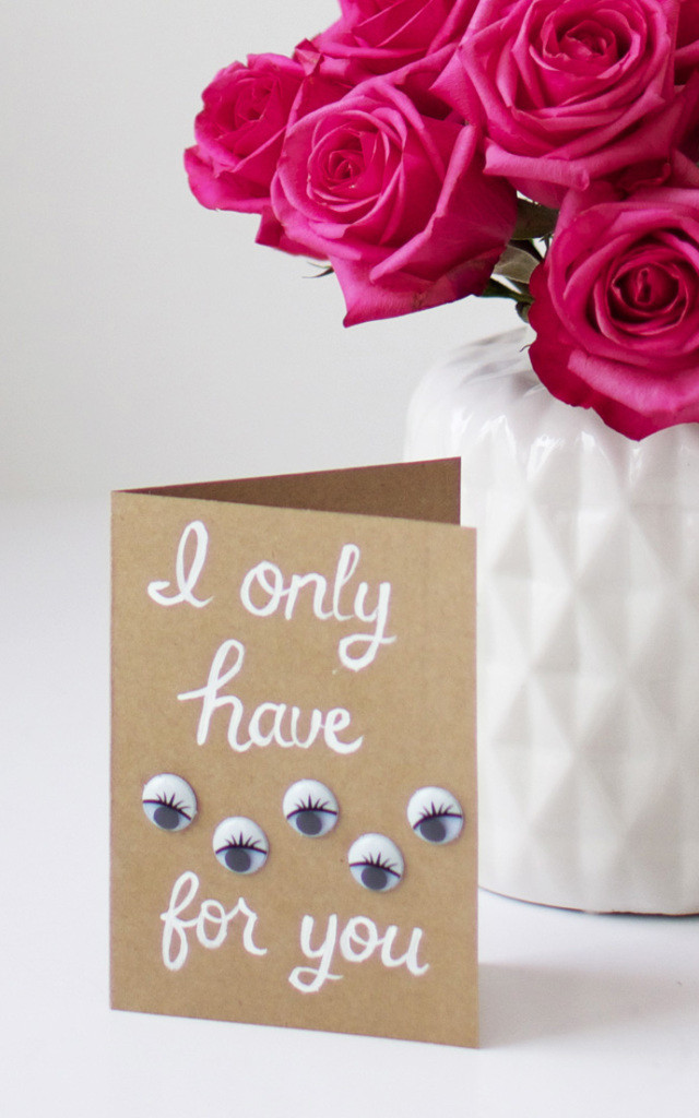 Best ideas about DIY Valentine Cards . Save or Pin 14 DIY Valentine s Day Cards Homemade Ideas for Now.