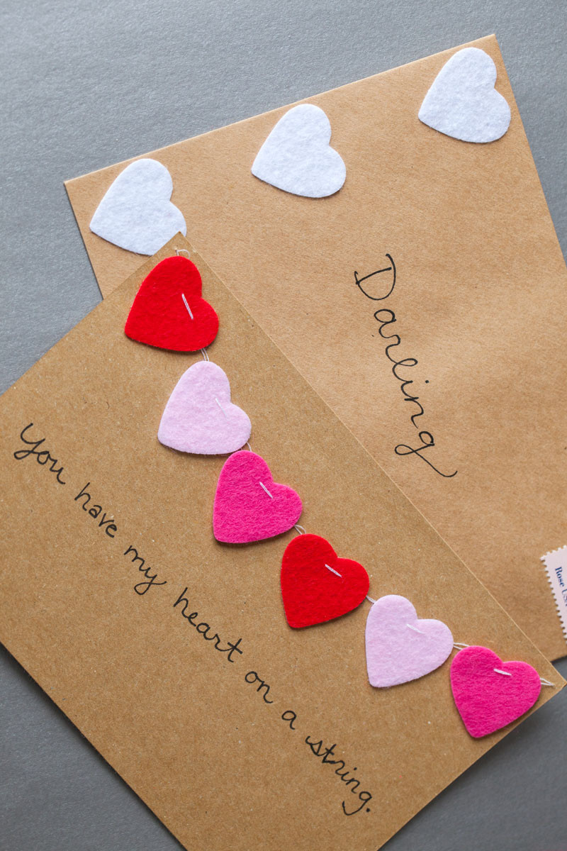 Best ideas about DIY Valentine Cards . Save or Pin DIY Valentine s Day Cards Valentine Crafts Now.