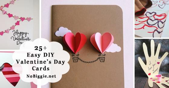 Best ideas about DIY Valentine Day Cards . Save or Pin 25 Easy DIY Valentine s Day Cards Now.