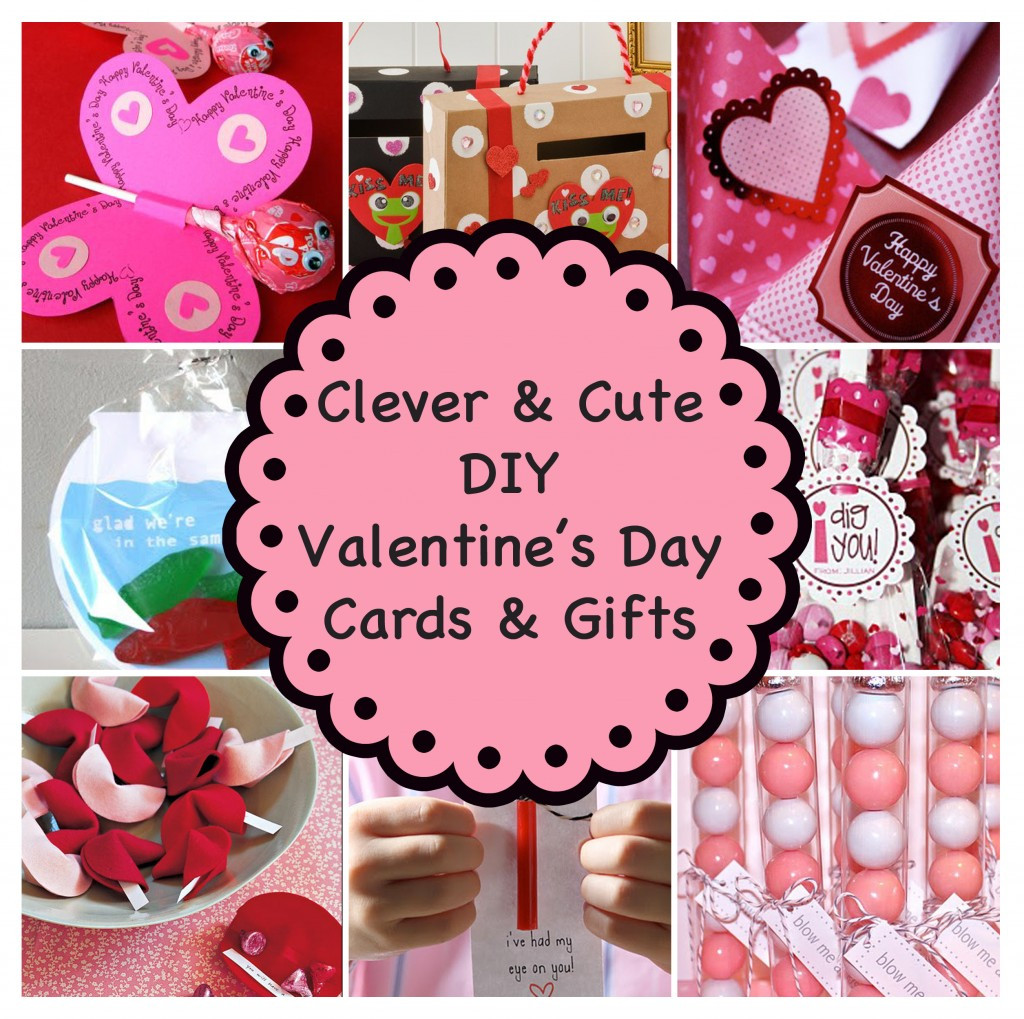 Best ideas about DIY Valentine Day Cards . Save or Pin Clever and Cute DIY Valentine's Day Cards & Gifts Now.