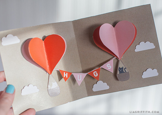 Best ideas about DIY Valentine Day Cards . Save or Pin Make Your Own DIY Pop Up Valentine Card Today Now.
