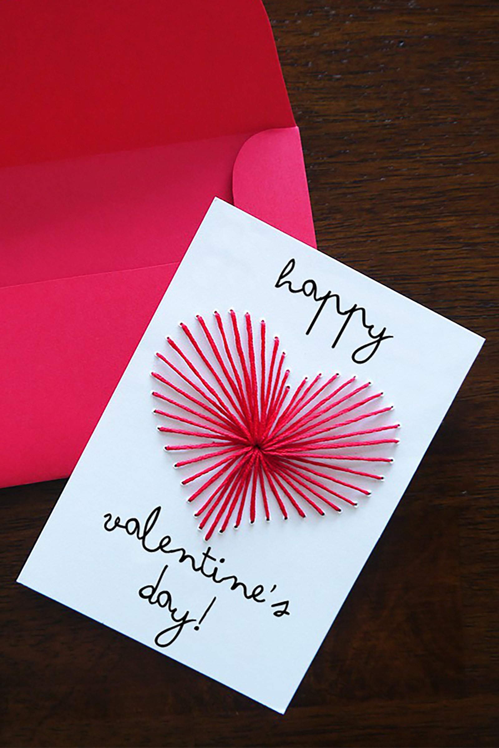 Best ideas about DIY Valentine Day Cards . Save or Pin 26 DIY Valentine s Day Cards Homemade Valentines Now.