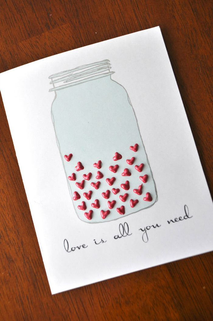Best ideas about DIY Valentine Day Cards . Save or Pin DIY Valentines Day Cards for Your Husband Your Mom and Now.