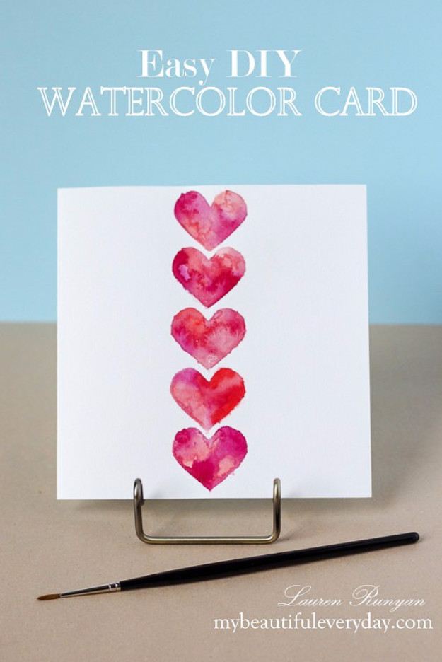 Best ideas about DIY Valentine Day Cards . Save or Pin 50 Thoughtful Handmade Valentines Cards Now.