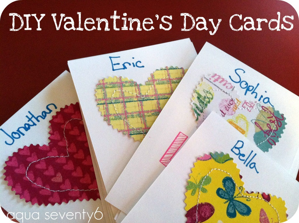 Best ideas about DIY Valentine Day Cards . Save or Pin Aqua Seventy6 DIY Valentine s Day Cards Now.