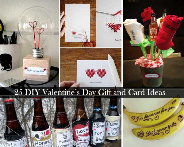 Best ideas about Diy Valentine Day Gift Ideas . Save or Pin 25 Easy DIY Valentines Day Gift and Card Ideas Now.
