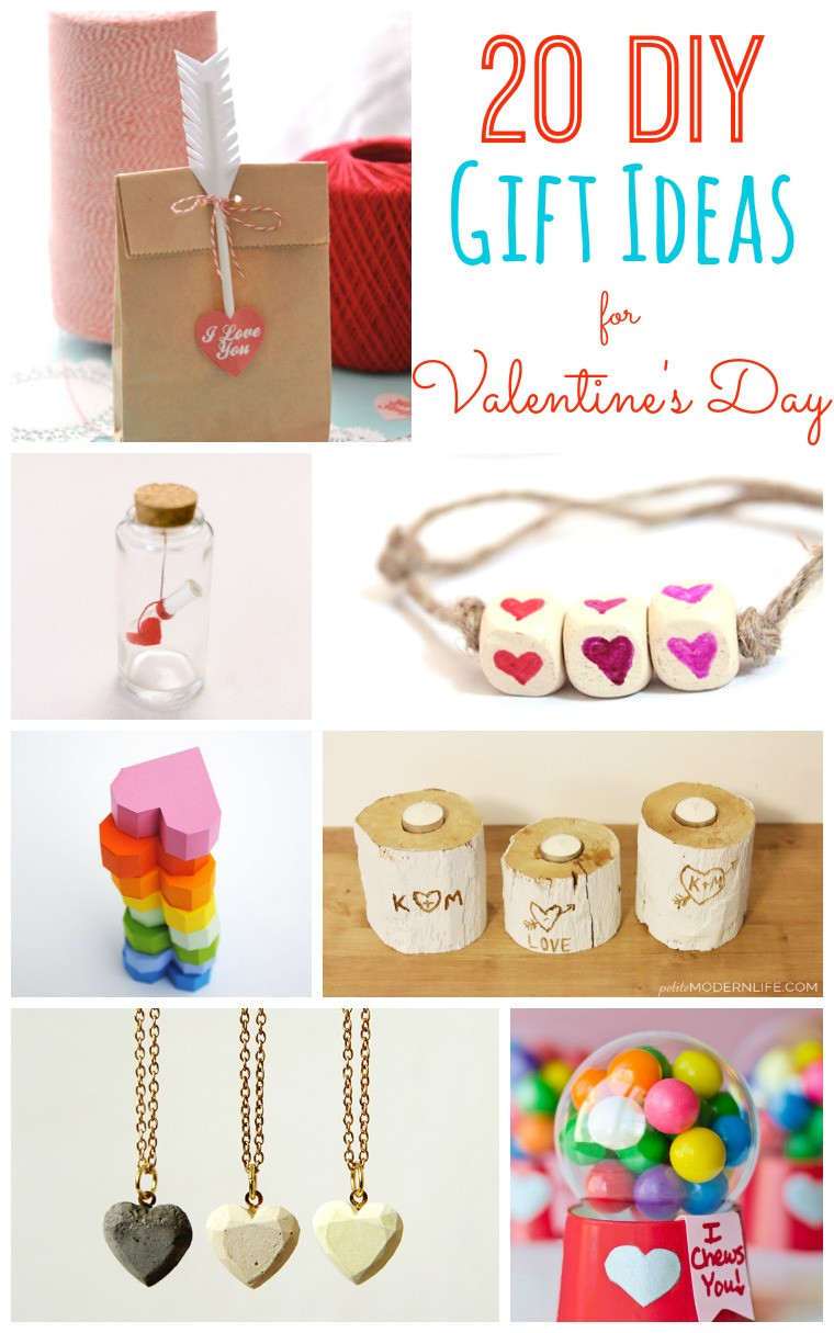 Best ideas about Diy Valentine Day Gift Ideas . Save or Pin 20 DIY Valentine s Day Gift Ideas Tatertots and Jello Now.
