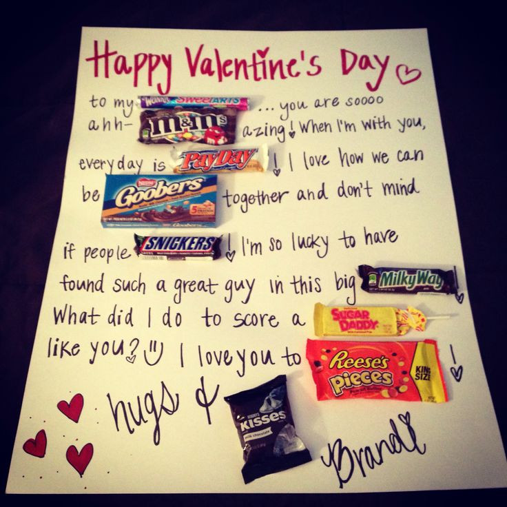 Best ideas about Diy Valentine Gift Ideas For Boyfriend . Save or Pin Easy diy valentines t for him Now.