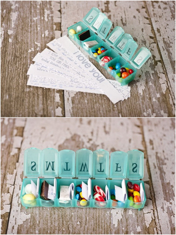 Best ideas about Diy Valentine Gift Ideas For Boyfriend . Save or Pin Easy DIY Valentine s Day Gifts for Boyfriend Listing More Now.