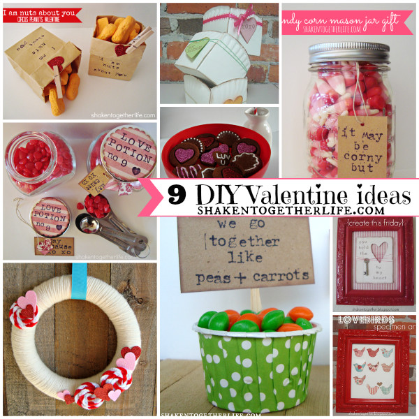 Best ideas about DIY Valentine Gifts . Save or Pin 9 DIY Valentine Ideas Home Decor Crafts & Gifts Now.