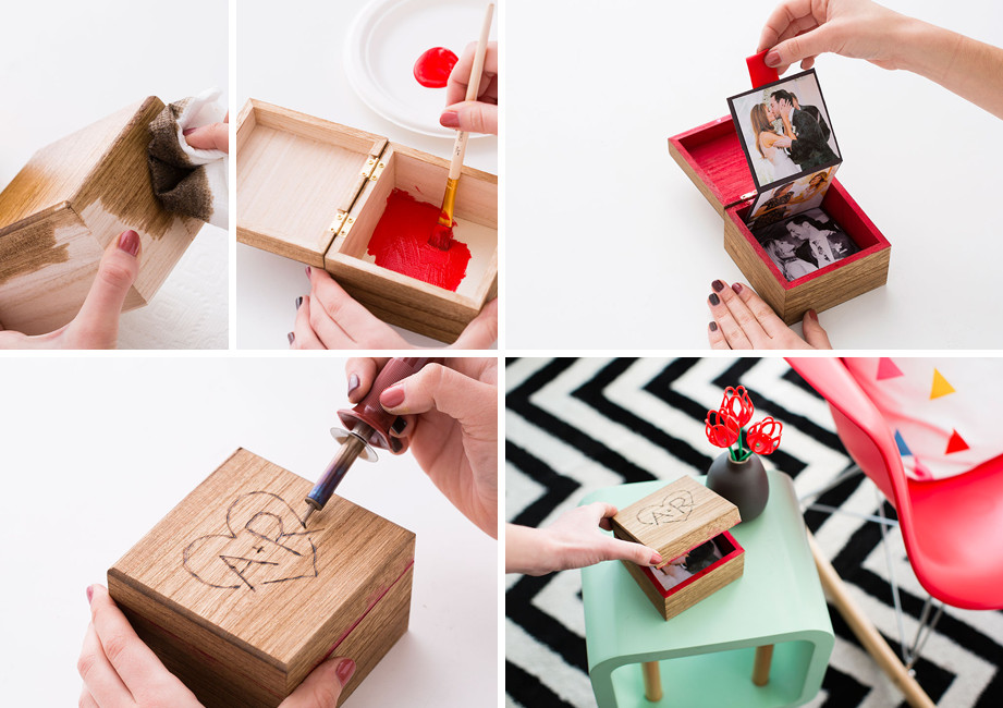 Best ideas about DIY Valentine Gifts . Save or Pin 14 DIY Valentine's Day Gifts for Him and Her Now.