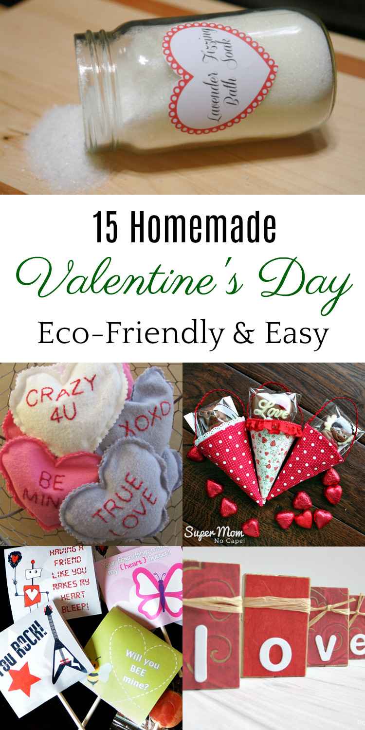 Best ideas about DIY Valentine Gifts . Save or Pin DIY Valentine s Day Gift Ideas Green Oklahoma Now.
