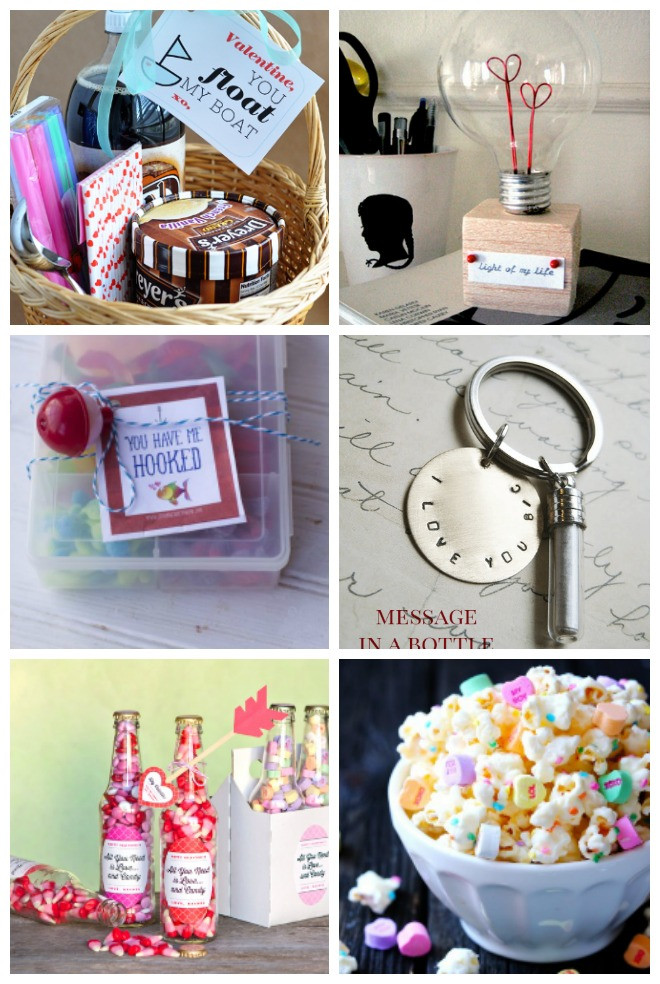 Best ideas about DIY Valentine Gifts . Save or Pin 10 DIY Valentine's Day Gifts for Him – Tip Junkie Now.