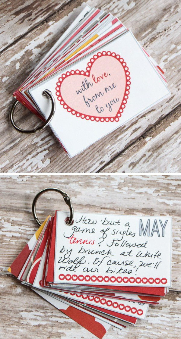 Best ideas about DIY Valentine Gifts . Save or Pin Easy DIY Valentine s Day Gifts for Boyfriend Listing More Now.