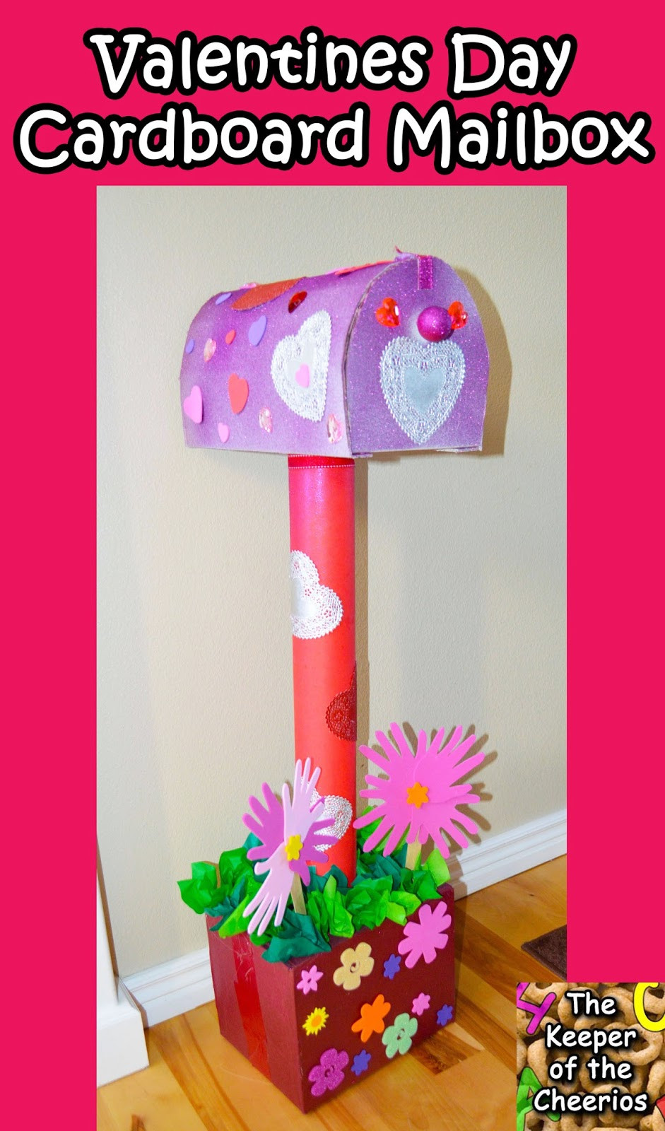 Best ideas about DIY Valentine Mailbox . Save or Pin Valentines Day Cardboard Mailbox DIY Now.