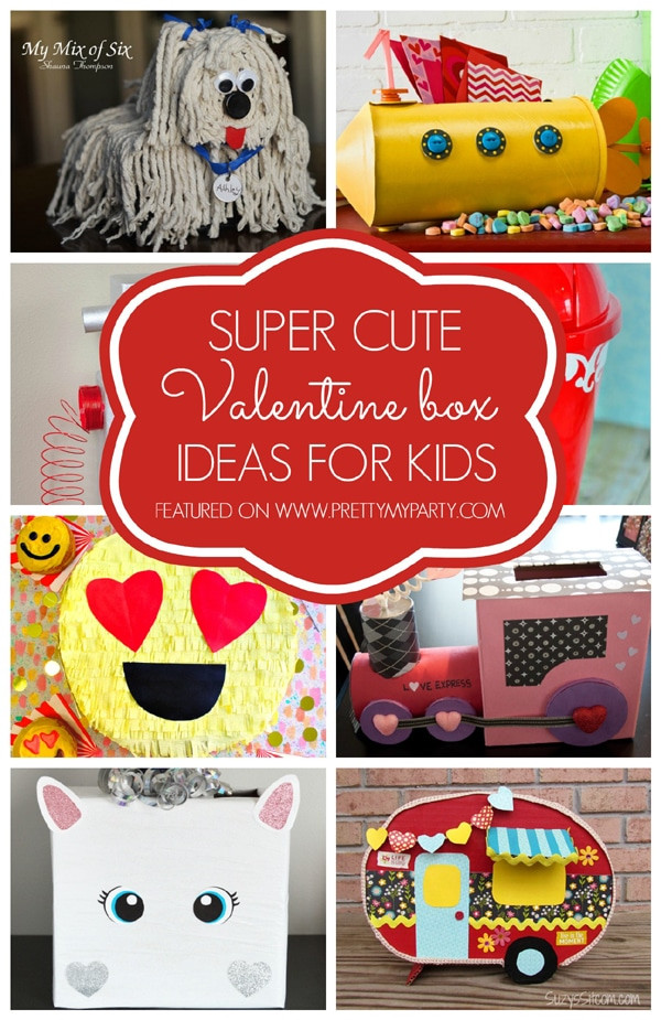 Best ideas about DIY Valentine Mailbox . Save or Pin 29 Adorable DIY Valentine Box Ideas Pretty My Party Now.