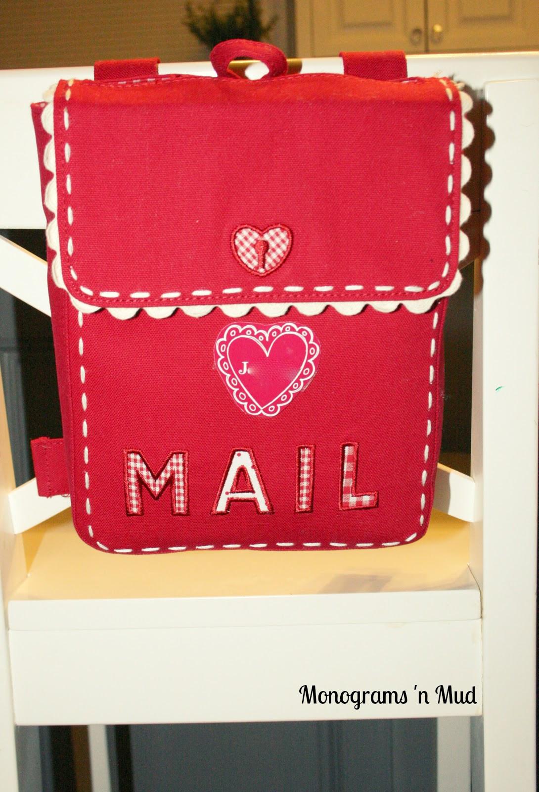 Best ideas about DIY Valentine Mailbox . Save or Pin Monograms n Mud DIY Valentine Mailbox Personalization Now.