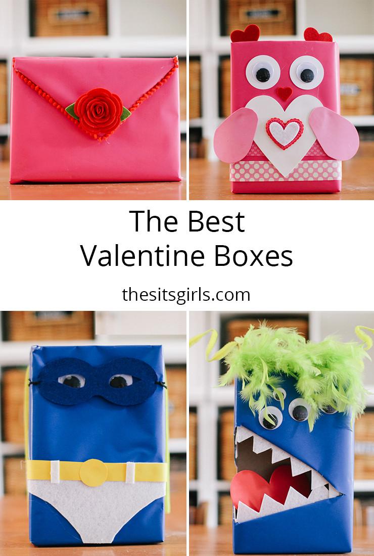 Best ideas about DIY Valentine Mailbox . Save or Pin Valentine Mailbox Now.