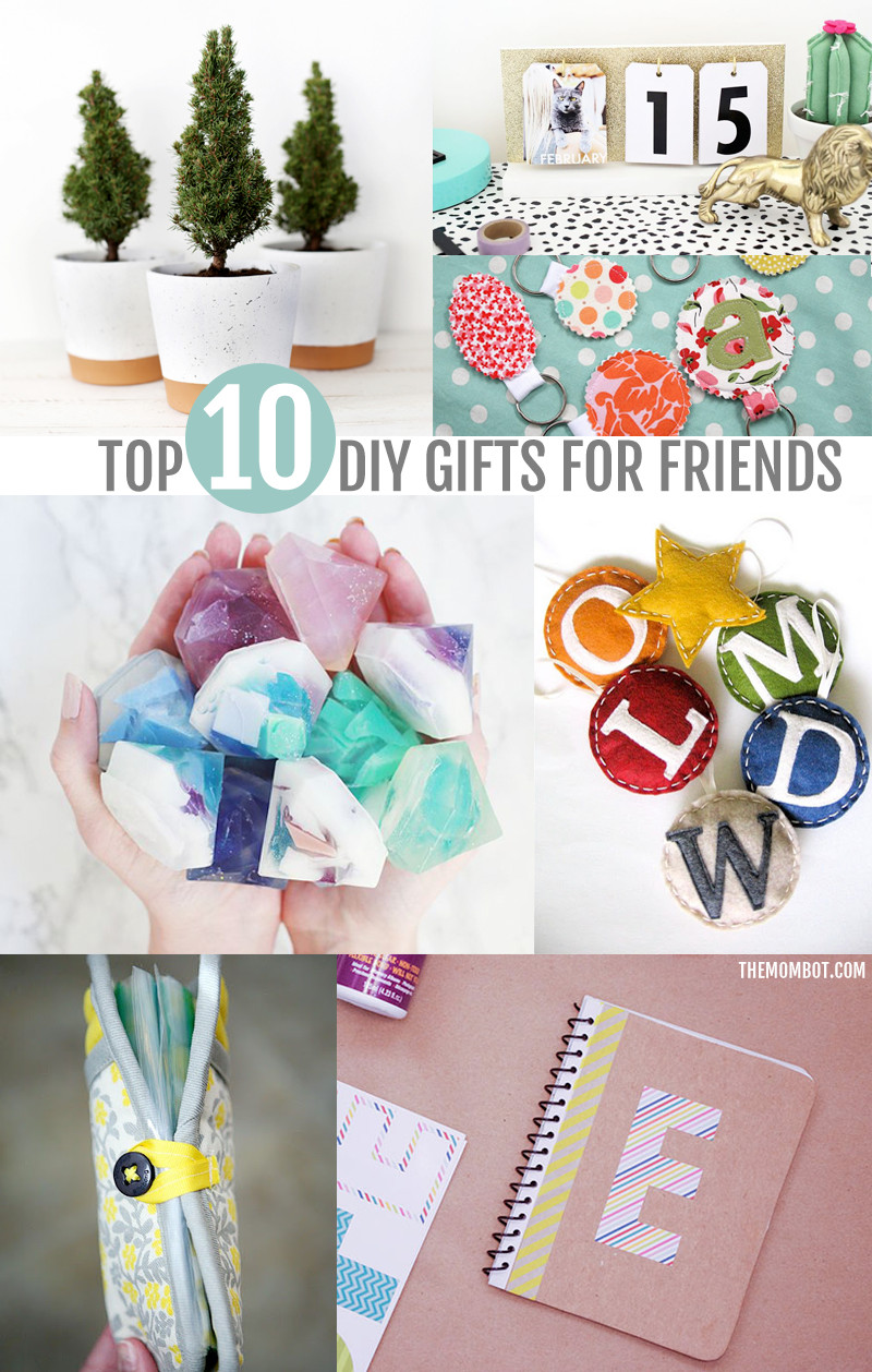 Best ideas about DIY Valentine'S Gifts For Friends . Save or Pin DIY ts for friends neighbors & coworkers The Mombot Now.