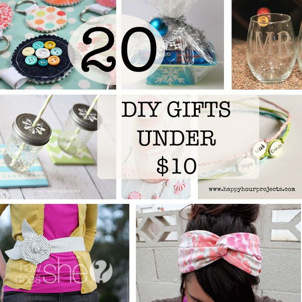 Best ideas about DIY Valentine'S Gifts For Friends . Save or Pin 20 DIY Gifts under $10 Now.