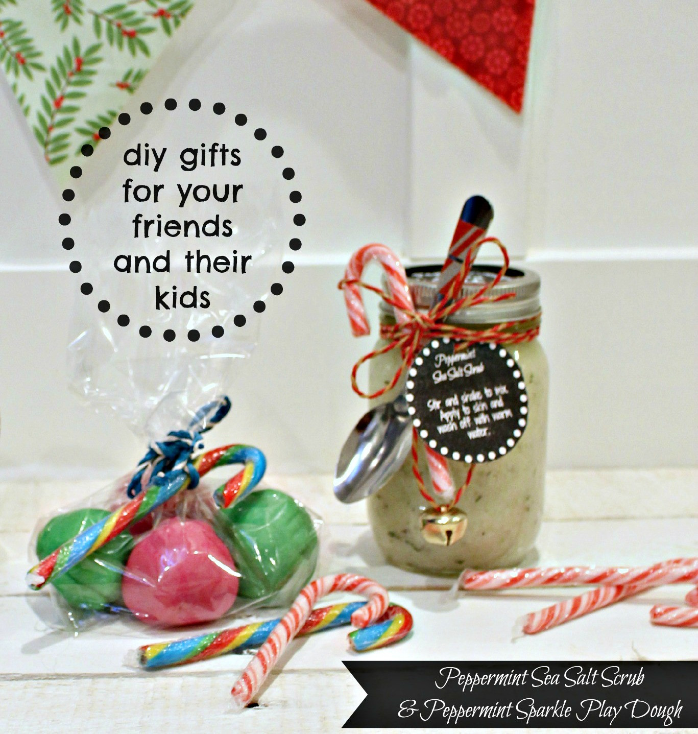 Best ideas about DIY Valentine'S Gifts For Friends . Save or Pin DIY Peppermint Sea Salt Scrub and Peppermint Sparkle Now.