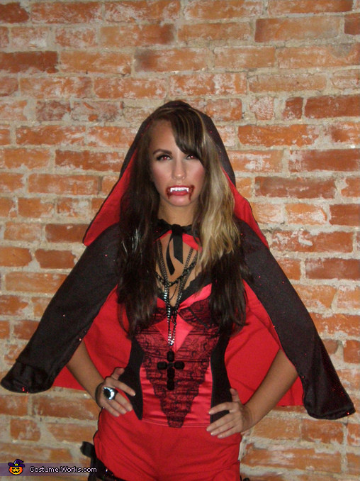 Best ideas about DIY Vampire Costumes For Women . Save or Pin Vampire Little Red Riding Hood Costume 2 3 Now.