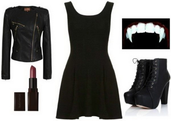 Best ideas about DIY Vampire Costumes For Women . Save or Pin DIY Halloween Vampire Ideas Hative Now.