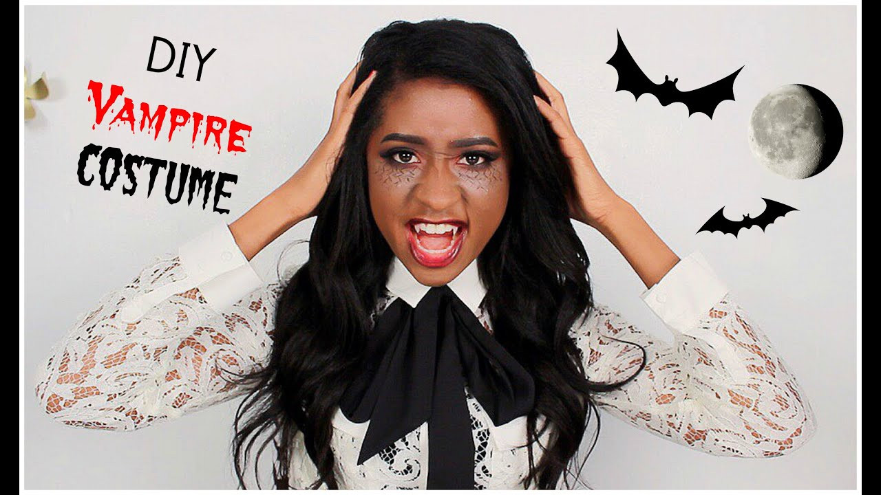 Best ideas about DIY Vampire Costumes For Women . Save or Pin DIY Last minute VAMPIRE Halloween Costume⎮Mallory Patrice Now.