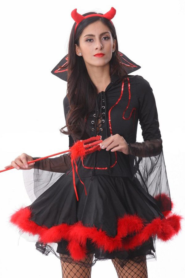Best ideas about DIY Vampire Costumes For Women . Save or Pin Vampire Mistress Halloween Devil Costume Now.