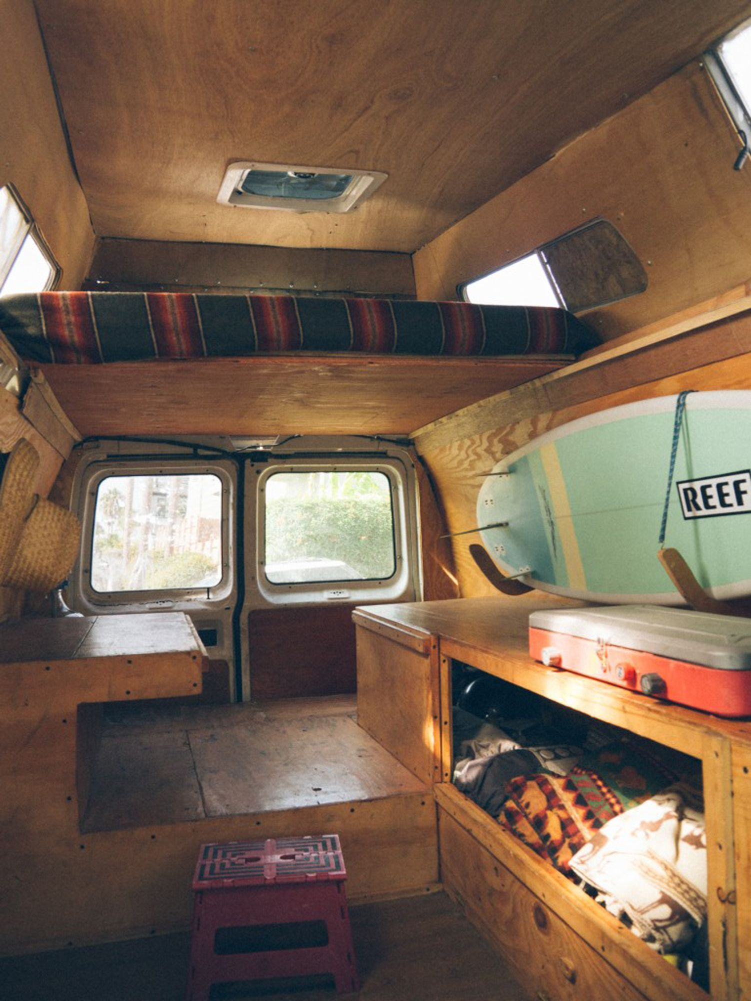 Best ideas about DIY Van Camper . Save or Pin DIY van conversion with Loft bed Now.