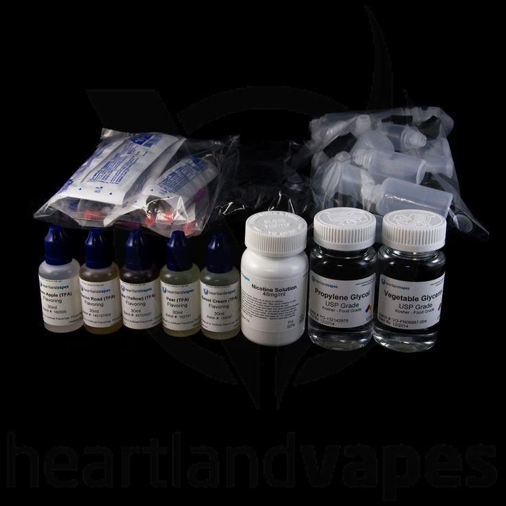 Best ideas about DIY Vape Juice Kits . Save or Pin DIY Kit for eLiquid Make your own juice Heartlandvapes Now.