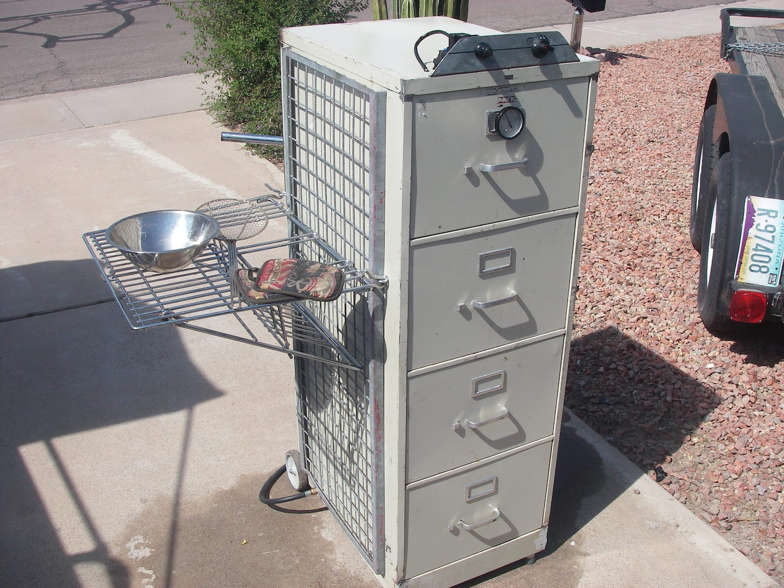 Best ideas about DIY Vertical Smoker Plans . Save or Pin 15 Homemade Meat Smokers to Add Smoked Flavor to Meat or Now.