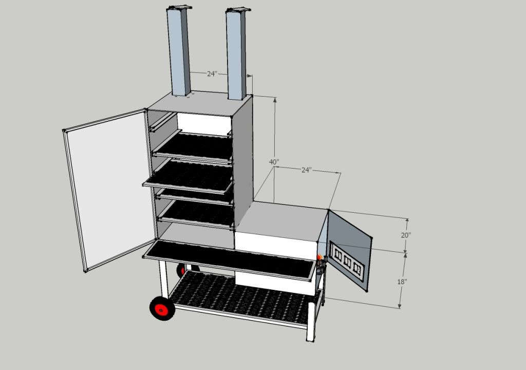 Best ideas about DIY Vertical Smoker Plans . Save or Pin Vertical offset smoker builld DIY in 2019 Now.