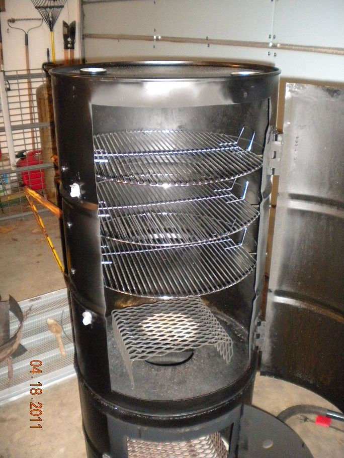 Best ideas about DIY Vertical Smoker Plans . Save or Pin vertical barrel smoker new projects Now.