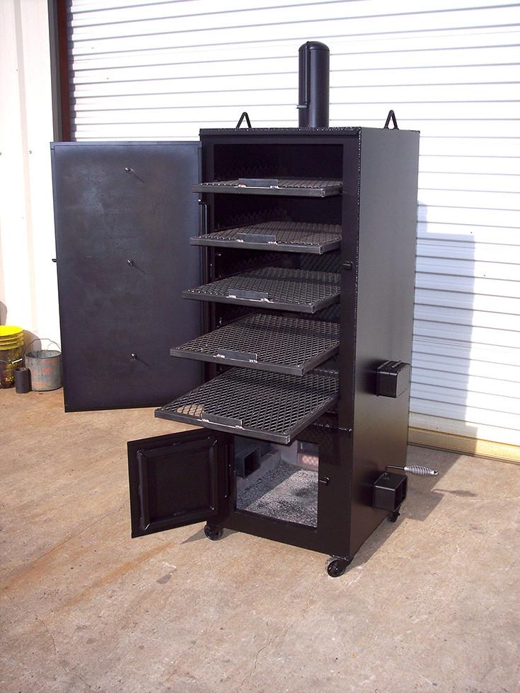 Best ideas about DIY Vertical Smoker Plans . Save or Pin Vertical Smoker – Johnson Custom BBQ Smokers Now.