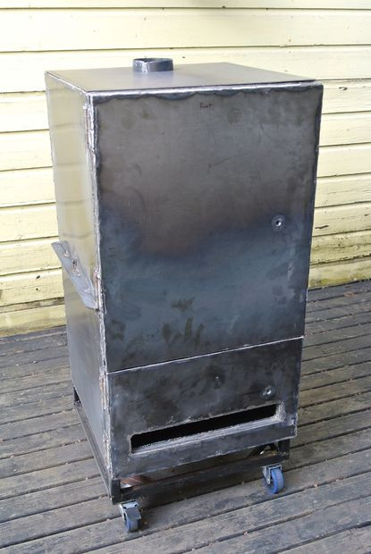 Best ideas about DIY Vertical Smoker Plans . Save or Pin Making a Vertical Smoker and Grill Now.