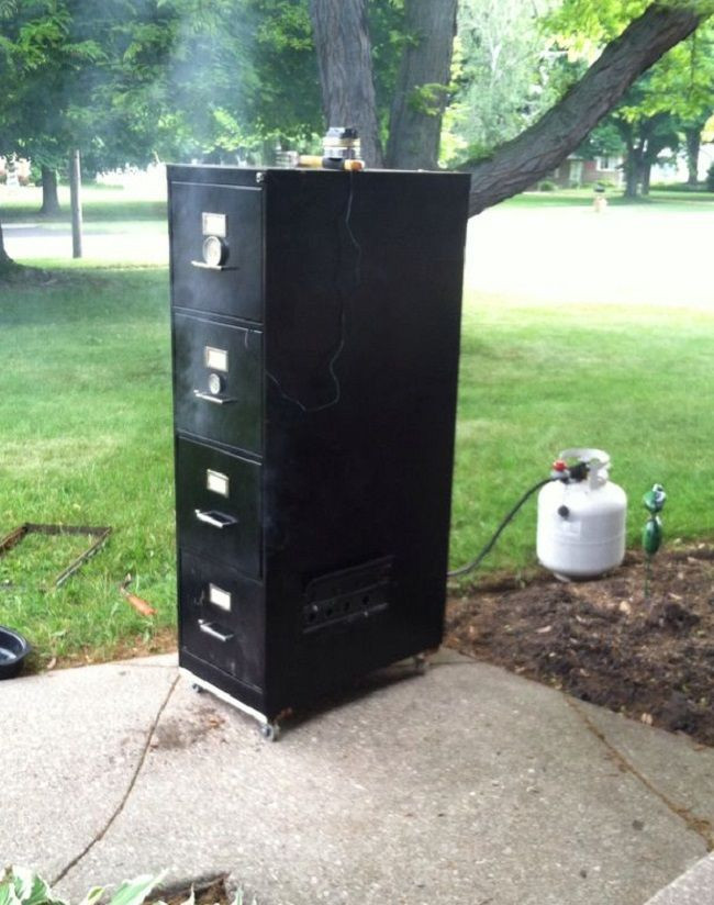 Best ideas about DIY Vertical Smoker Plans . Save or Pin Best 25 Build a smoker ideas on Pinterest Now.