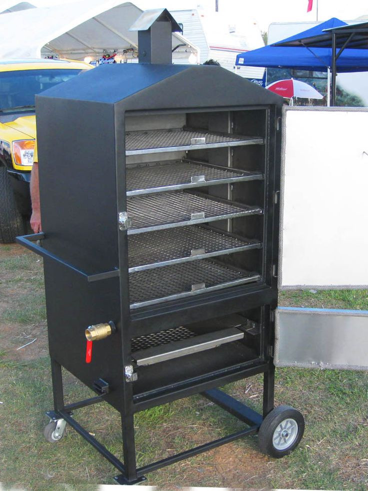 Best ideas about DIY Vertical Smoker Plans . Save or Pin Build electric Smoker like this Now.