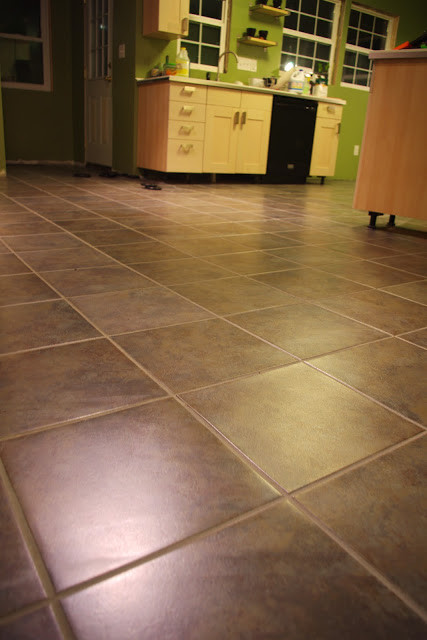 "Best ideas about DIY Vinyl Flooring . Save or Pin Dan & Jess DIY ""luxury"" vinyl tile Now."