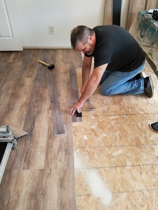 Best ideas about DIY Vinyl Flooring . Save or Pin Installing Vinyl Floors A Do It Yourself Guide The Now.