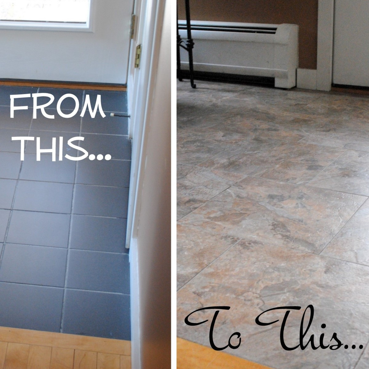 Best ideas about DIY Vinyl Flooring . Save or Pin DIY How to Install Groutable Vinyl Floor Tile Jenna Burger Now.