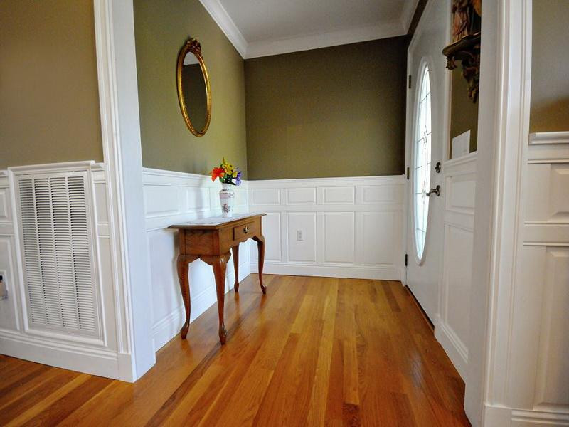 Best ideas about DIY Wainscoting Kit . Save or Pin Decorations Wainscoting Kits Panel Raised Hallway The Now.