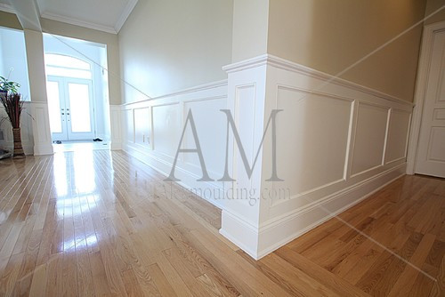 Best ideas about DIY Wainscoting Kit . Save or Pin what cost it will need to install Shaker 2 Tier Now.
