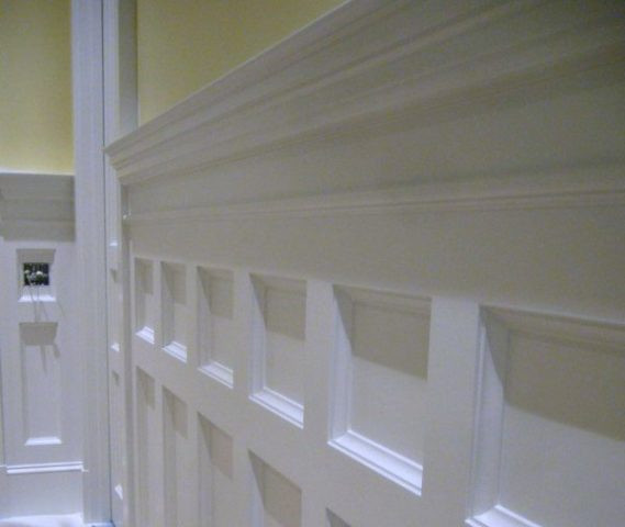 Best ideas about DIY Wainscoting Kit . Save or Pin DIY Wainscoting Paneling Adds Value and Style To Your Home Now.