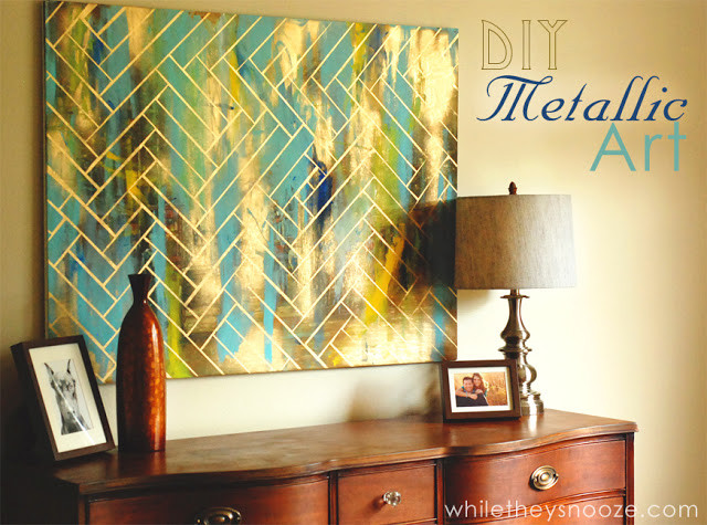 Best ideas about DIY Wall Art Painting . Save or Pin 7 Gorgeous DIY Wall Art Projects that Look High End Now.