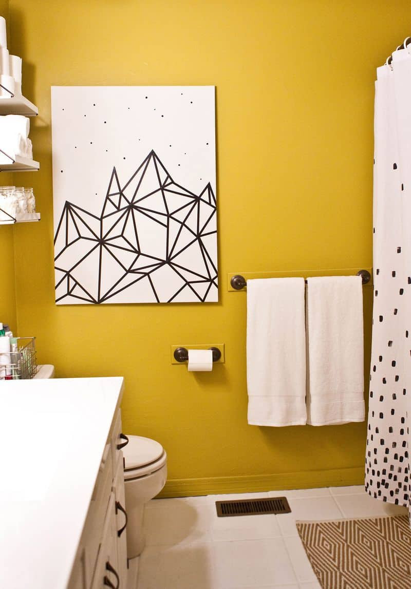 Best ideas about DIY Wall Art Painting . Save or Pin 10 DIY Wall Decorations With Washi Tape Now.