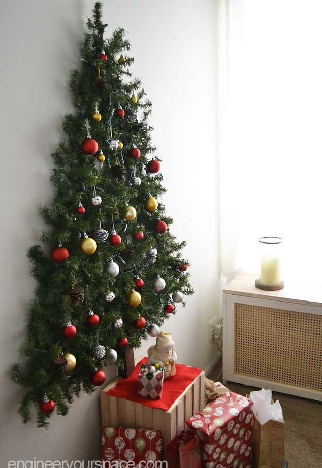 Best ideas about DIY Wall Christmas Trees . Save or Pin 10 DIY Wall Christmas Tree Ideas – Tip Junkie Now.