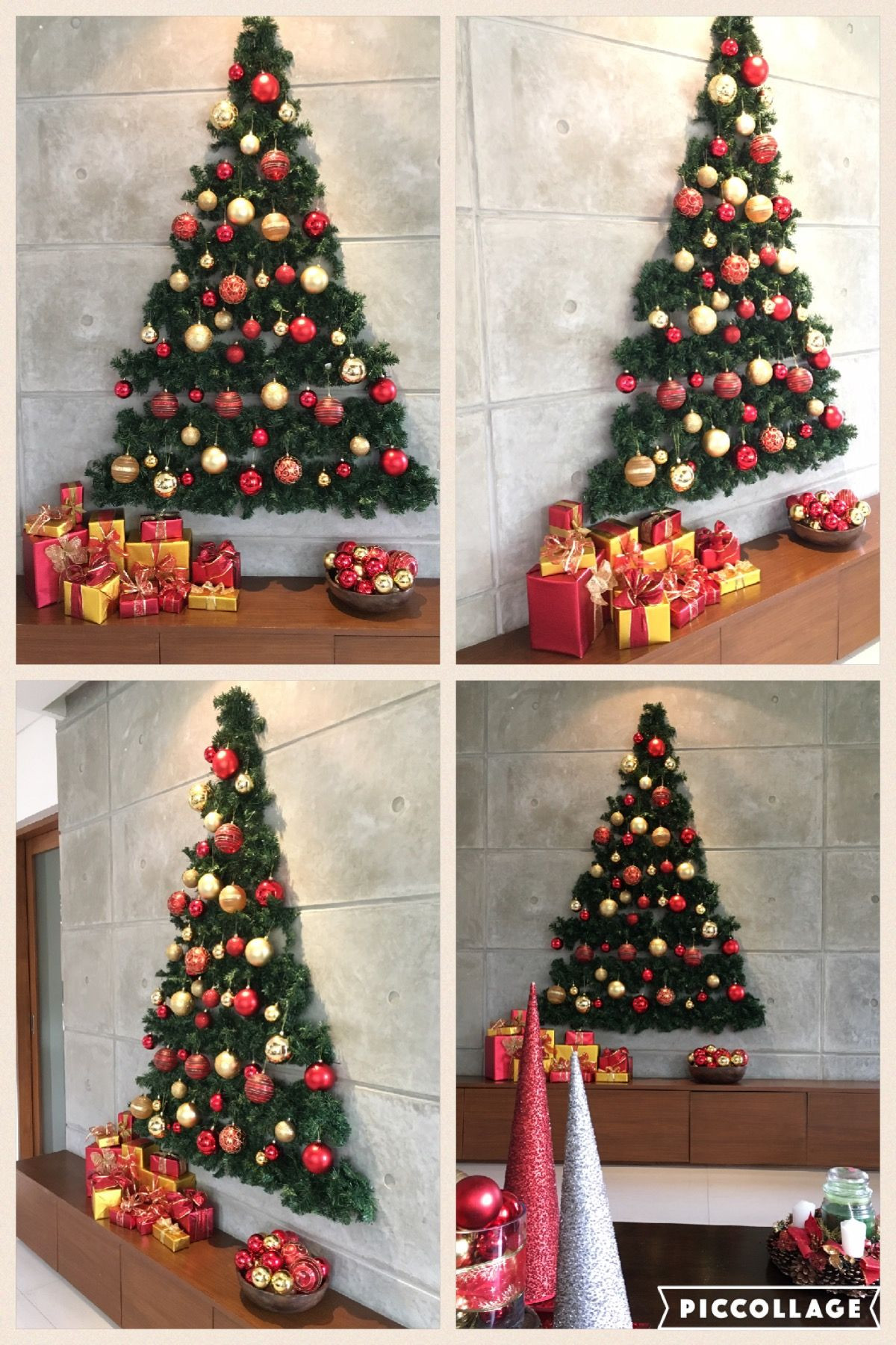 Best ideas about DIY Wall Christmas Trees . Save or Pin Flat Wall Christmas Tree Christmas decor Now.